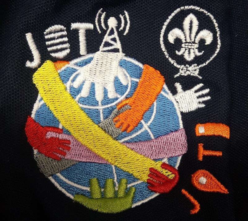 Gesticktes JOTA-JOTI Logo 2017